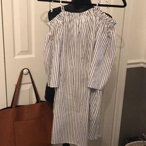 Cute Pinstriped Dress